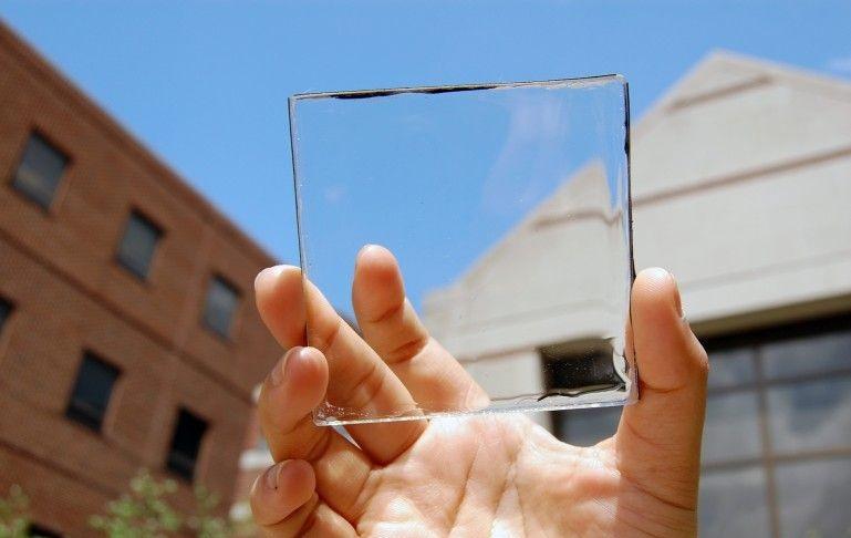 Прозрачные солнечный батареи заменят экраны устройств