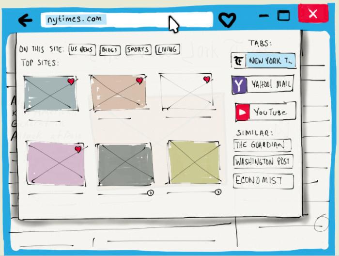 Mozilla представила интересный концепт нового браузера Lightspeed