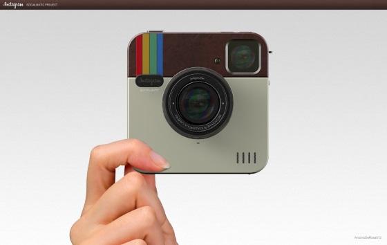 Palaroid Socialmatic – камера для любителей Instagram