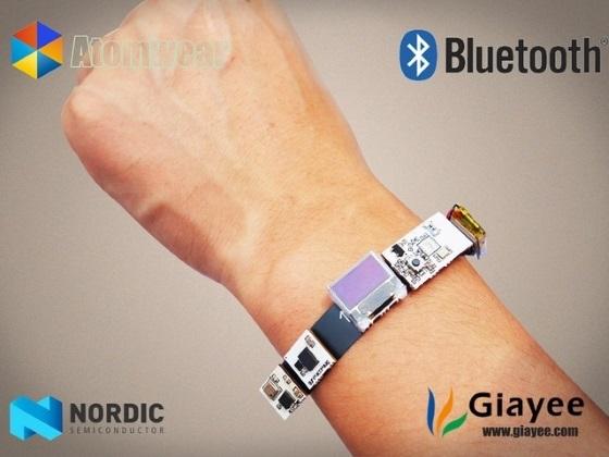 Atomwear – первый умный браслет с настраиваемой функциональностью