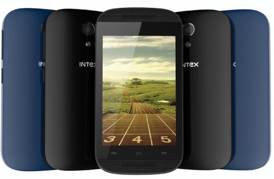 Intex представила очень дешевый смартфон на Android