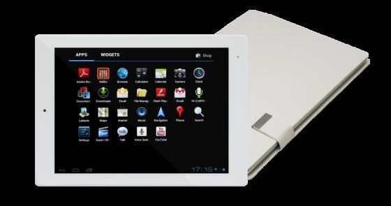IRU представили планшет с энергоэффективным процессором