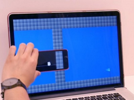 В MIT разрабатывают технологию использования смартфона в качестве дополнительного экрана
