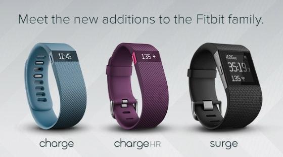 Fitbit представила новую линейку спортивных-трекеров