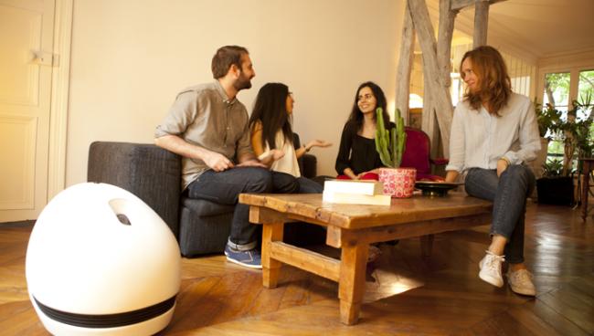 Keecker – очень необычный робот на Android