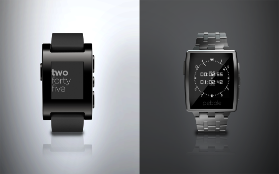 Pebble снижает цены на свои часы