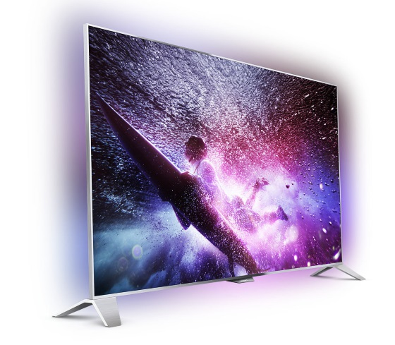 Philips 55FS8109 – один из первых телевизоров на Android TV