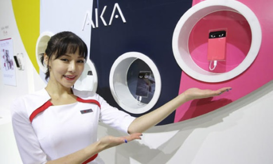 LG Aka – очень эмоциональный смартфон