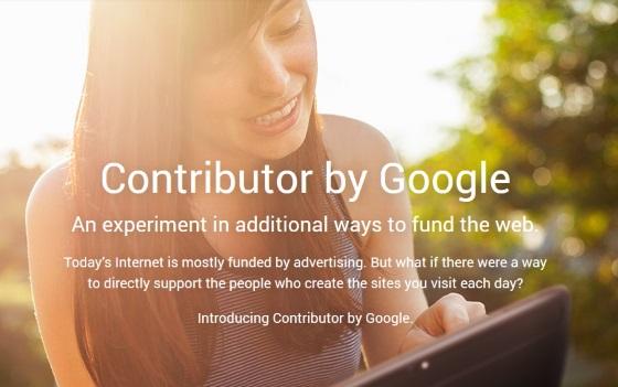 Google запускает сервис Contributor