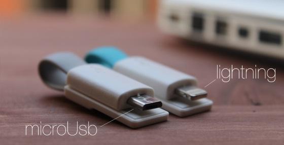 InCarge – кабель и брелок на ключи