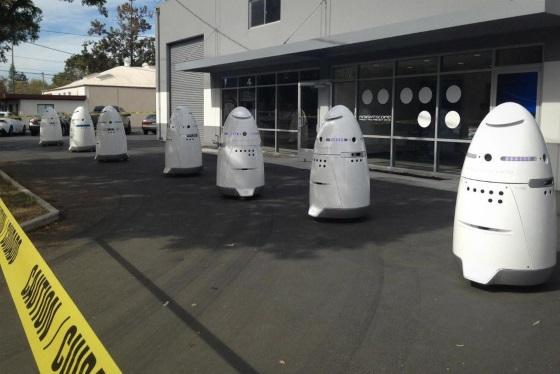 Роботы Knightscope будут замещать охранников