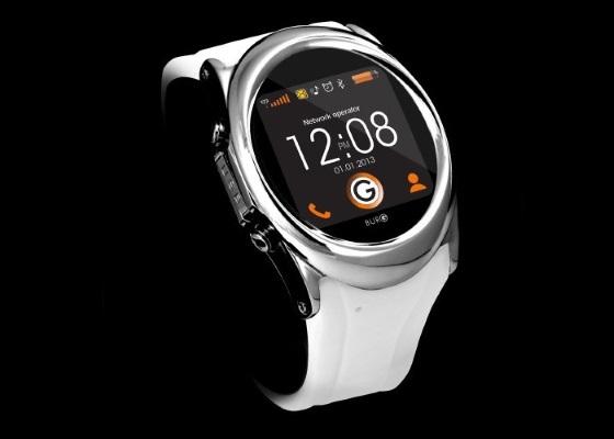 Burg 12 – круглые часы с квадратным интерфейсом