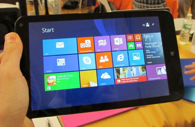 HP представила два новых планшета