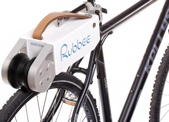 Rubbee 2.0 сделает ваш велосипед намного удобнее