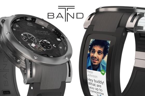 T-band позволит сделать любые часы умными