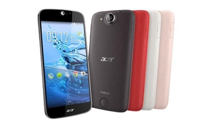 Acer выпустила свой первый 64-битный смартфон