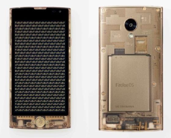 KDDI Fx0 – прозрачный смартфон на Firefox OS