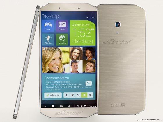 Linshof представили мощный смартфон с необычной внешностью за 380 долларов