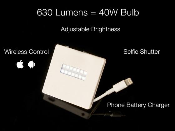 PowerLite – вспышка способная подзарядить ваш смартфон