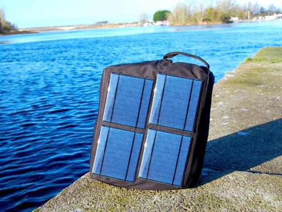Solofy – рюкзак с солнечными батареями