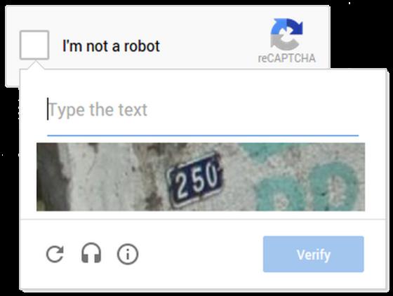 Google представила новую версию reCAPTCHA