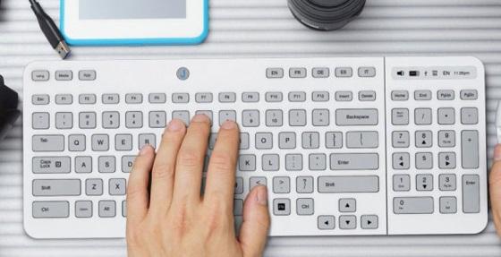 Jaasta E Ink Keyboard – клавиатура с E Ink клавишами