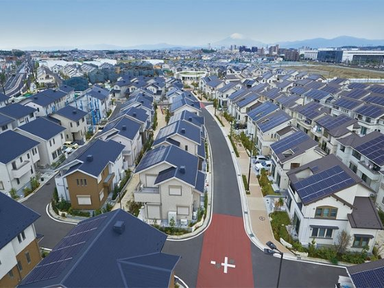 Panasonic открыла умный город в окрестностях Фудзисавы