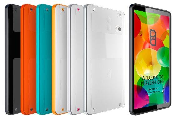 Puzzlephone – модульный смартфон от Circular Devices
