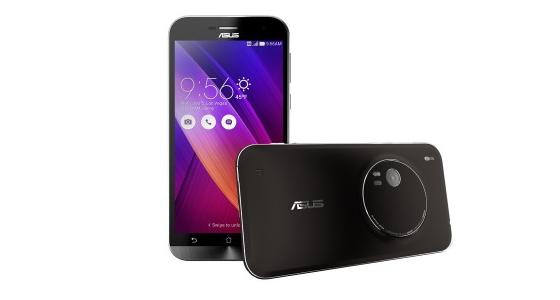 ASUS представила смартфон с оптическим зумом