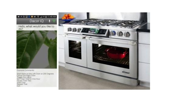 Кухонные печи от Dacor получат голосовое управление