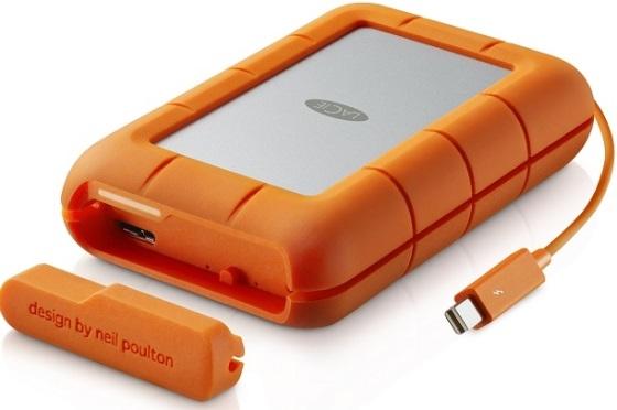 LaCie Rugged RAID – двойной внешний жесткий диск с неплохими характеристиками