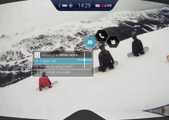 RideOn – умные очки для лыжников