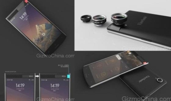 ViewSonic V55 – смартфон со сканером радужной оболочки глаз
