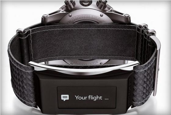 Montblanc представили умный ремешок для часов