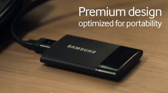 Samsung показала новую серию внешних жестких дисков