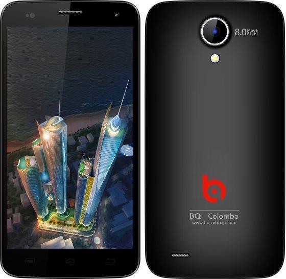 BQ представила новый бюджетный смартфон