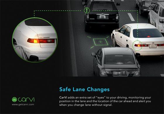 CarVi поможет водителям предотвратить столкновение