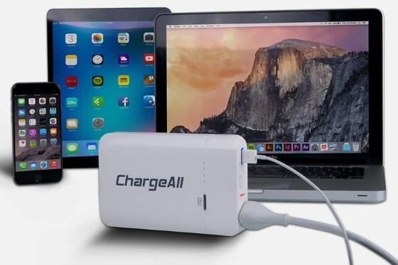 Пауэрбанк ChargeAll сможет зарядить и ваш ноутбук
