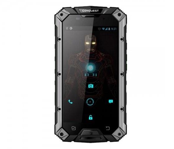 Conquest S6 – грозный смартфон с грозной защитой