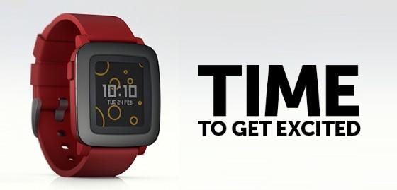 Pebble анонсировала умные часы с цветным экраном
