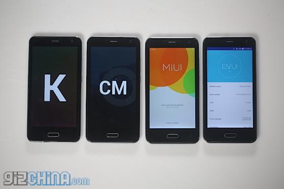 Elephone P5000 – смартфон с шестью разными Android прошивками