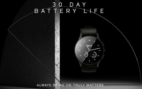Vector Watch – смарт-часы живущие 30 дней от одного заряда