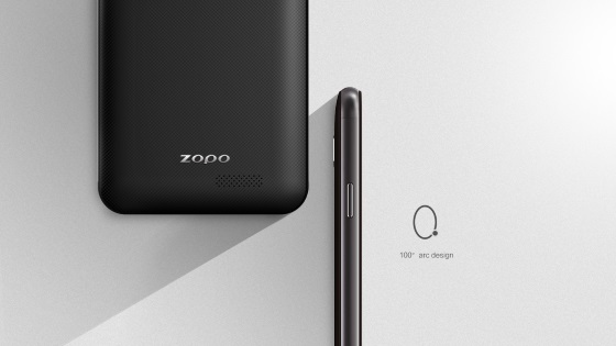 Zopo ZP532 – 2.5D Android смартфон