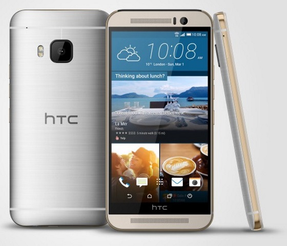 HTC представила свой новый флагманский смартфон One M9