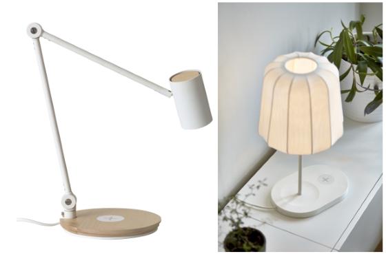 IKEA будет монтировать Qi зарядку в свою мебель