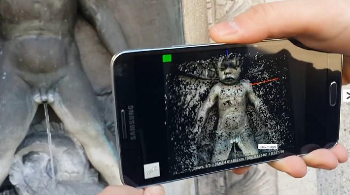 Новый чип позволит добавить возможности 3D-сканирования любому смартфону
