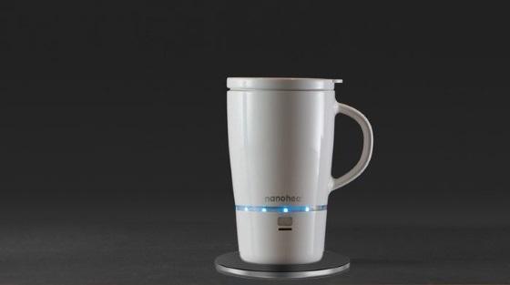 Кружка Nanoheat не позволит остыть вашему кофе