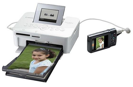 Canon Selphy CP1000 – новый компактный принтер