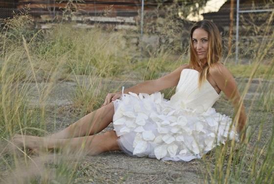 3D печать помогла в создании платья из пива