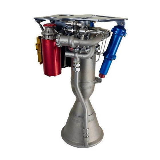 Ракетный двигатель напечатан на 3D принтере